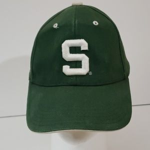 Michigan State Spartans Adjustable Strap Hat Cap